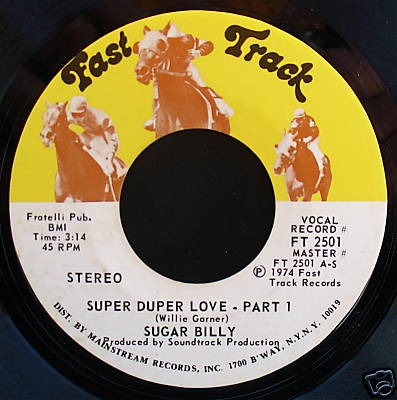 "Download or listen to Sugar Billy Garner's ""Super Duper Love"""
